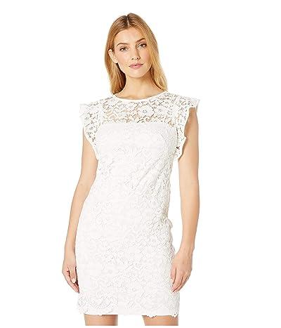 LAUREN Ralph Lauren Afiya Dress (White) Women