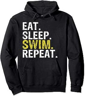 Eat Sleep Swim Repeat Gift Hoodie