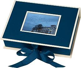 12 pezzi prodotto da Semikolon Scatole regalo azzurro vichy