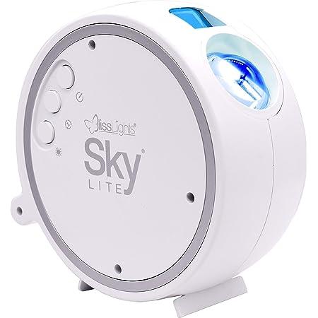 BlissLights Sky Lite - LED Proyector Estrellas, Luces Galaxia, Iluminación de la Habitación y Luz Nocturna (estrellas azules)