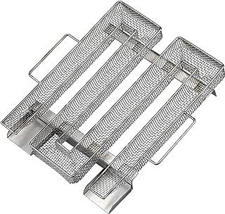 KARAA Rostfritt stål kallröksgenerator 304 rostfritt stål BBQ träpellet rökkorg – BBQ rökare tillbehör för kallrökning köt...