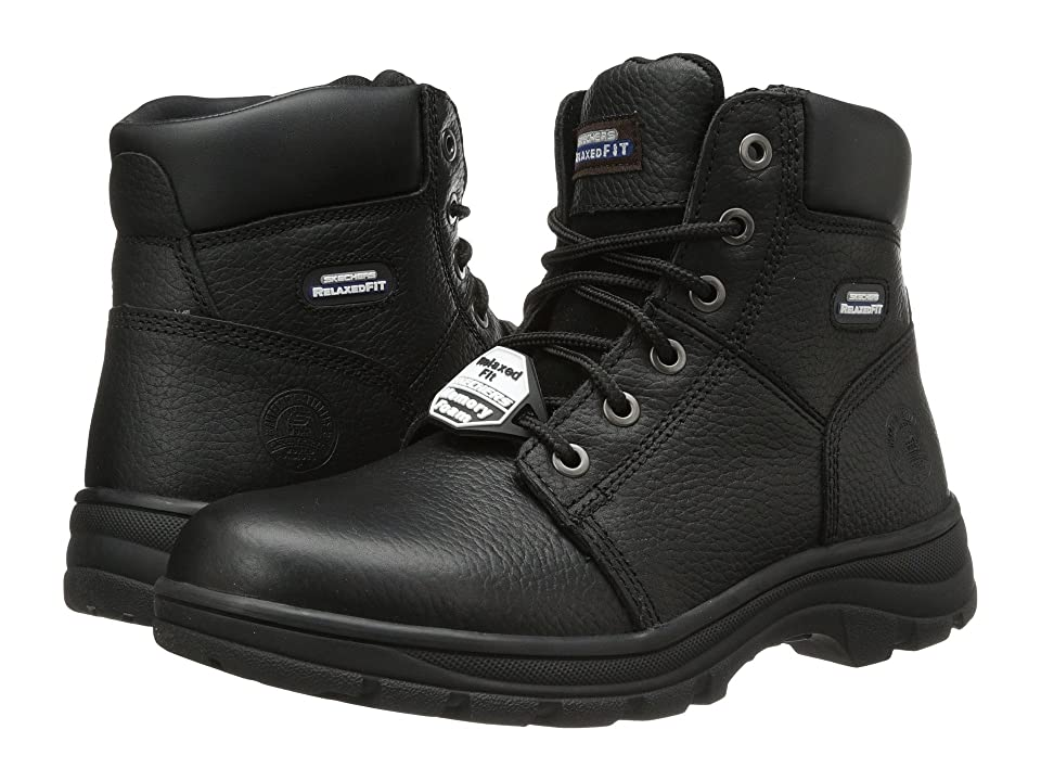 SKECHERS Work Workshire Condor (Black) Men