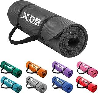 Xn8 Yogamatta Träningsmatta 15mm Halkfri fitness matta Physio gymnastikmatta för pilates fitness och träning 183 x 61 x 1....