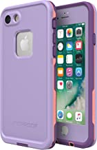 Lifeproof FRĒ SERIES Waterproof Case for iPhone 8 & 7 (ONLY) - Retail Packaging - CHAKRA (ROSE/FUSION CORAL/ROYAL LILAC)