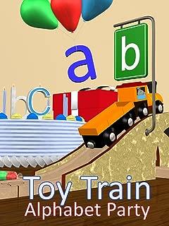 Toy Train Alphabet Party