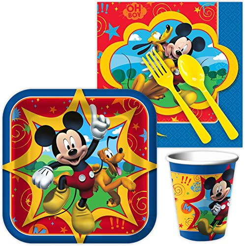 barato y de moda Mickey Mouse Standard Kit (Serves 8) by ANYTIME ANYTIME ANYTIME COSTUMES  para mayoristas