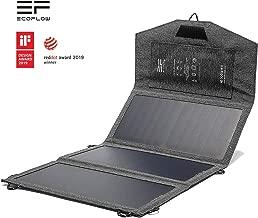 EF ECOFLOW Solar Panel Portable Solar Charger Panel 21W Foldable Sunpower USBx2 USB Devices