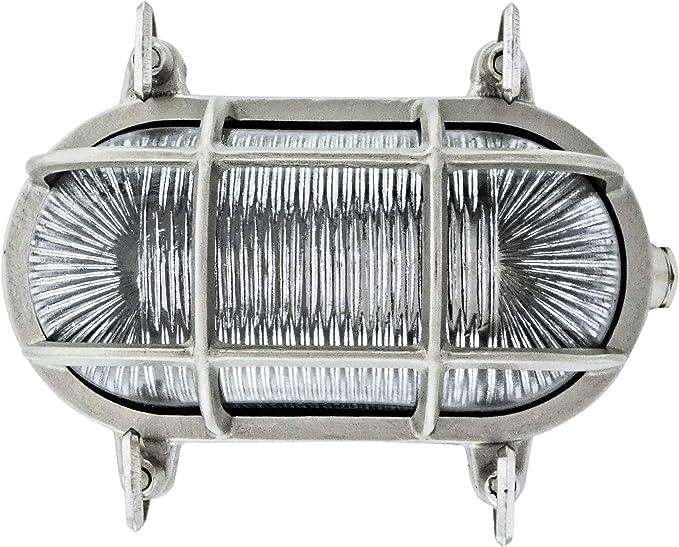 15 opinioni per Gloria 570 Paratia ovale lampada da parete all'interno o all'esterno di luce
