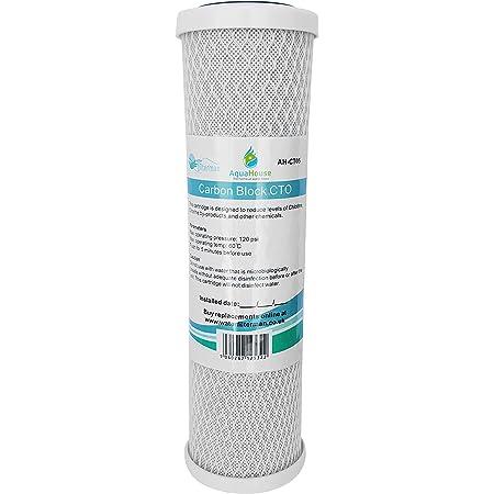 Cartouche Filtre Eau Bloc Carbone 25cm Pour Système Osmose Inversée