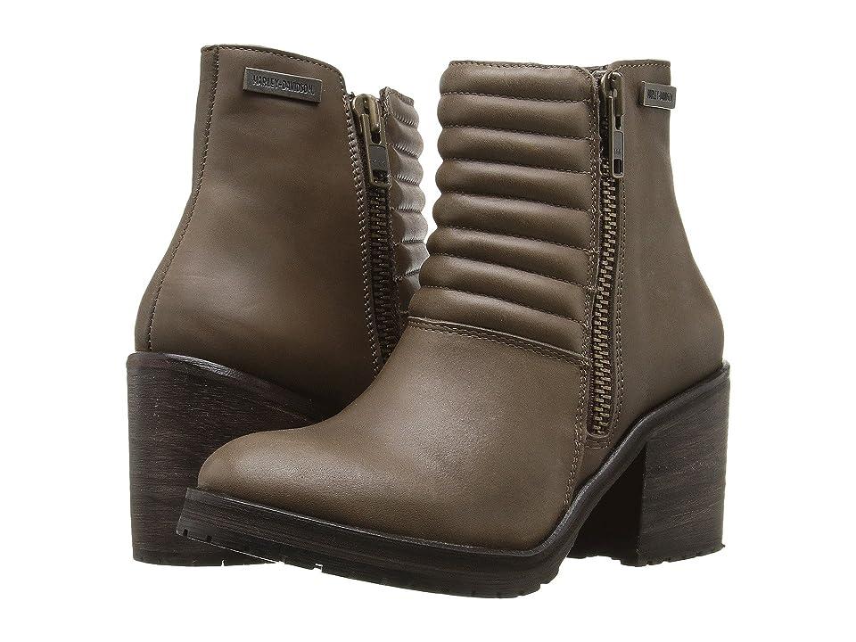 d7ff77136930 Harley-Davidson Aranda (Olive) Women s Zip Boots