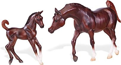 Breyer Classics Chestnut Arabian Horse & Foal Toy Set