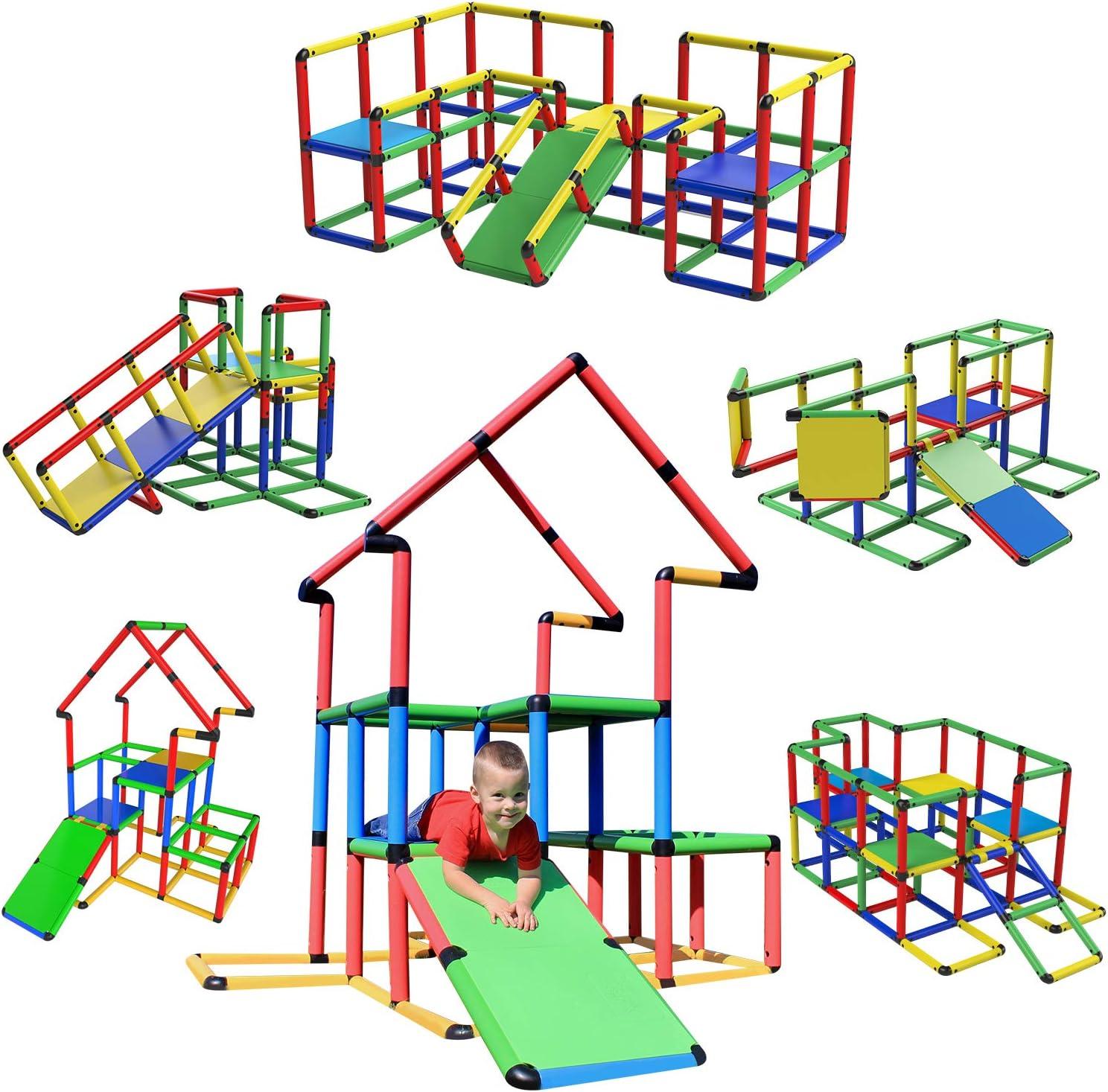 年間定番 Funphix Construction Toy Set Jumbo Pieces 全国どこでも送料無料 467