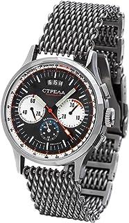Strela - Poljot 31681 - Reloj mecánico ruso con cronógrafo (24 horas)