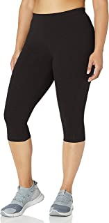 Rainbeau Curves Women's Plus Size Basix Compression Capri
