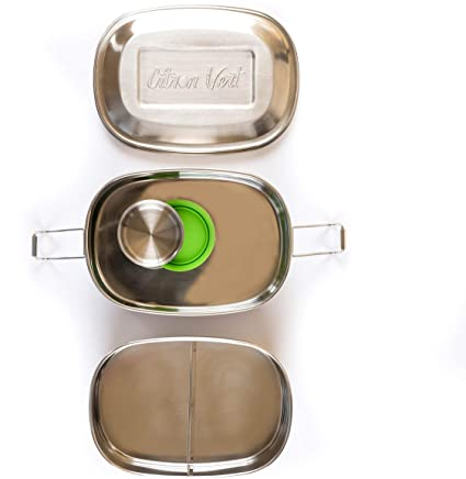 Citron Vert Stainless Steel Lunchbox 2 Layers