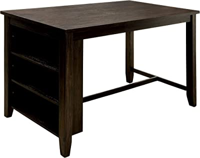 Amazon.com: East West Furniture Counter Height Rectangular ...