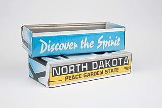 North Dakota license plate box - North Dakota Father`s Day gift - North Dakota Graduation Gift