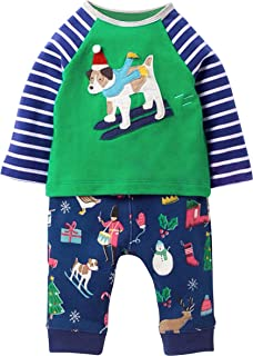 Boys and Toddlers Cotton Outfits Longsleeve Clothing Sets