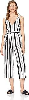 Women's Stripe Linen Jumpsuit