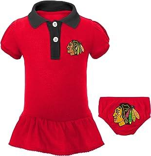 online store 907a4 2e811 Outerstuff NHL Boys Little Prep Polo   Diaper Cover Set