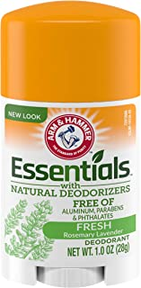 ARM AND HAMMER Essentials With Natural Deodorizers