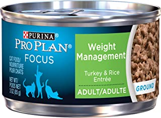 Purina Pro Plan FOCUS Weight Management Adult Dry Cat Food & Wet Cat Food