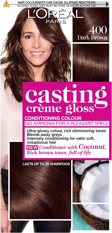 Tinte para cabello semipermanente LOréal Casting Crème Gloss ...