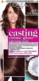 L'Oréal Casting Crème Gloss 400 Dark Brown Semi Permanent Hair Dye