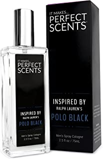 Perfect Scents Inspired by Ralph Lauren's Polo Black - Cologne for Men - 2.5 Fluid Ounces