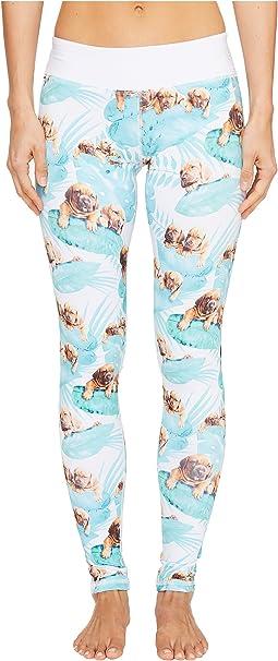 Puppies Make Me Happy - Fern Puppies Leggings