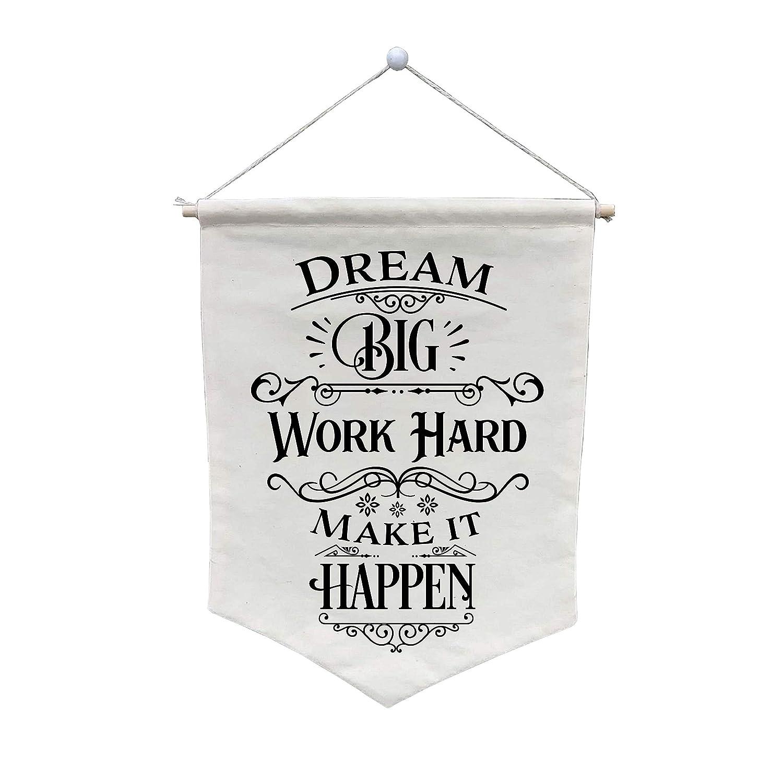 Dream Regular discount Many popular brands Big Work Hard Make It Customize Banner - Happen WB153