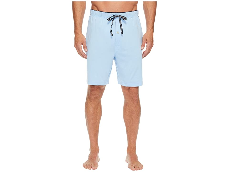 Nautica Knit Sleep Shorts (Noon Blue) Men