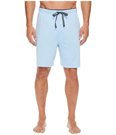 Nautica Knit Sleep Shorts (Noon Blue) Men