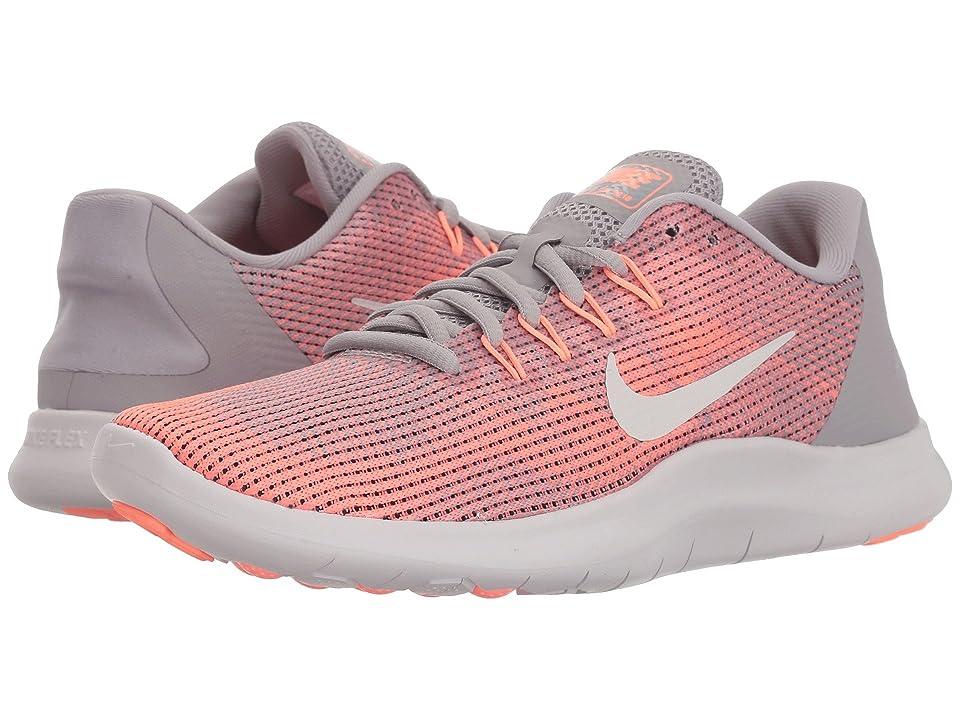 Nike Flex RN 2018 (Atmosphere Grey/Vast Grey/Crimson Pulse) Women