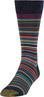 Men's Patterned Fashion Dress Crew Socks, 1 Pair