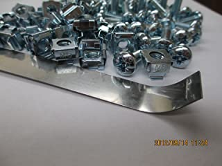500 M6 Cage Nuts, 500 Phillips Pozi Screws and 1 Insertion Tool