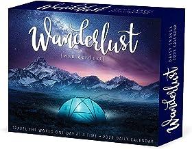 Wanderlust 2022 Daily Desktop Box Calendar