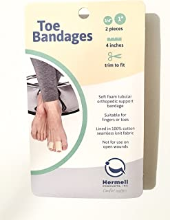 Soft Foam Tubular Orthopedic Support Bandage - Suitable For Fingers Or Toes - Trim To Fit