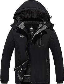 Wantdo Men's Mountain Waterproof Ski Jacket Warm Winter Coat Snowboarding Jacket Raincoats