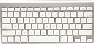 Apple Wireless Keyboard with Bluetooth - Silver (Renewed)