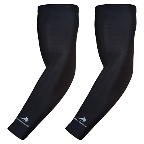 Men's Accessories 1pcs Running Cycling Uv Protection Arm Sleeves Arm Warmers Basketball Volleyball Bicycle Bike Arm Covers Sports Elbow Pads Attractive Appearance Men's Arm Warmers