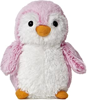 Aurora World Pom Pom Penguin Bright Pink Plush, 6