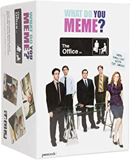 What Do You Meme? The Office Edition - The Hilarious Party Game for Meme Lovers