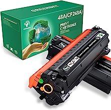 جایگزینی کارتریج تونر سازگار با GREENSKY برای HP 48A CF248A برای HP Laserjet Pro M15w M15a M16a M16w MFP M29w MFP M29a MFP M28w MFP M28a چاپگر (سیاه ، 2 بسته)