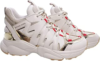 Sneakers Mujeres MICHAEL KORS 43T0HRFS4D Hero Cream Cuero Tejido