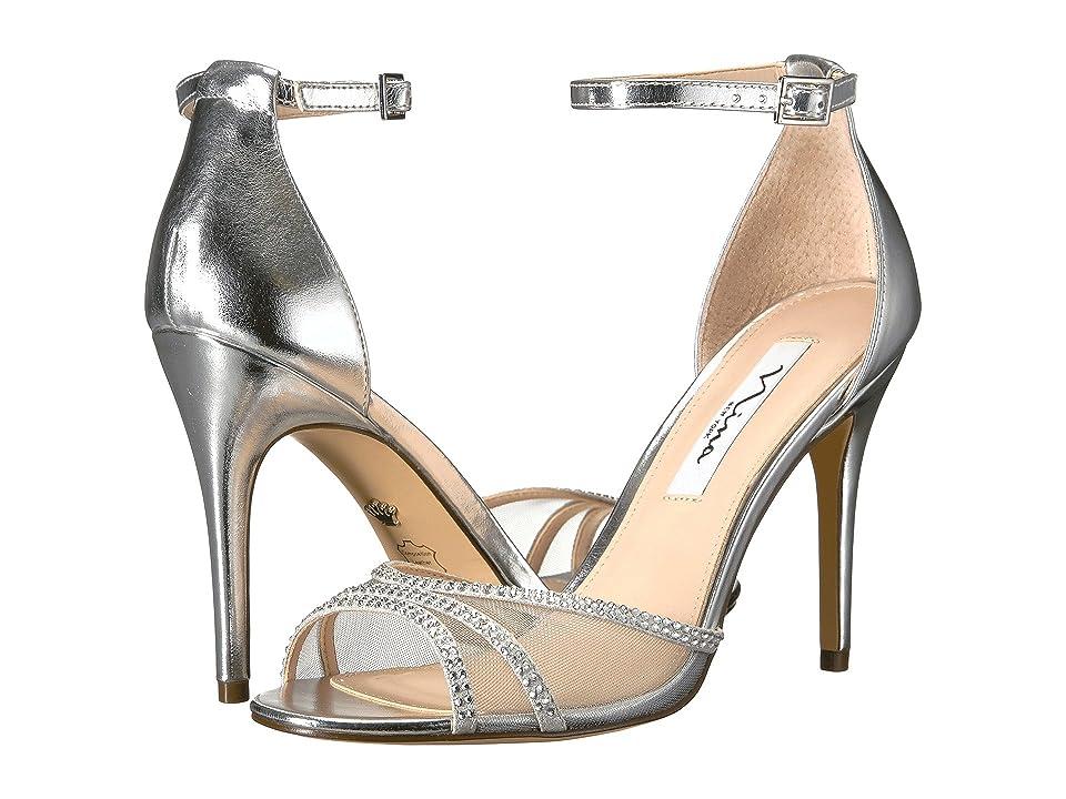 Nina Calissa (Silver Titan) High Heels