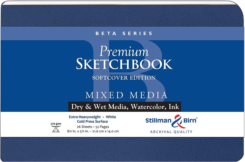 Beta Softcover Sketchbook 8.5X5.5 Ls by Stillman & Birn B017RT4AG6 | Moderne Muster
