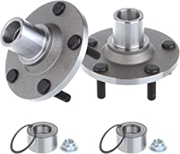 SCITOO Compatible with Pair (2) Front Hub Bearing Kit fit 2001-12 Ford Escape 2001-11 Mazda Tribute 2005-11 Mercury Mariner