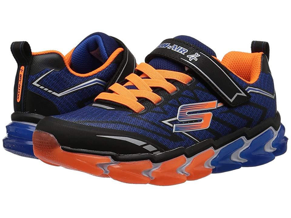SKECHERS KIDS Skech-Air 97728L (Little Kid/Big Kid) (Black/Blue/Orange) Boy