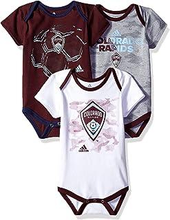 Outerstuff MLS Newborn & Infant Hat Trick 3 Piece Bodysuit Set